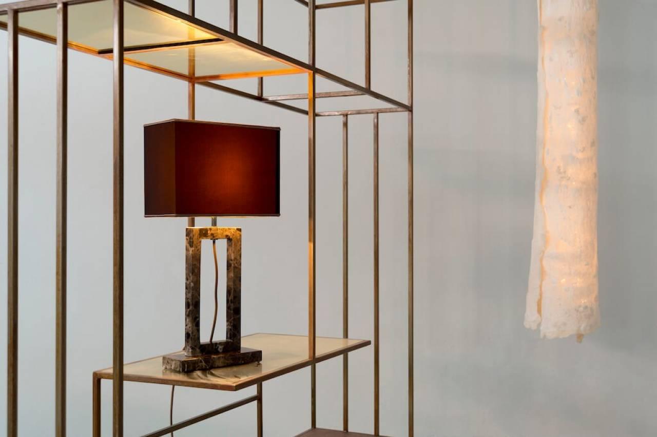 Pietre marmi e luci nel design firmato matlight milano