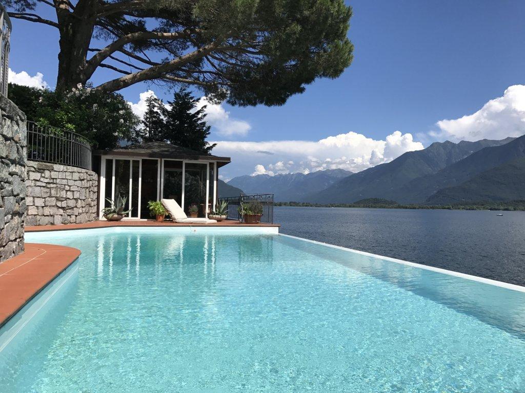Villa lago gera lario lombardia 0016276 - Ville in vendita con piscina ...